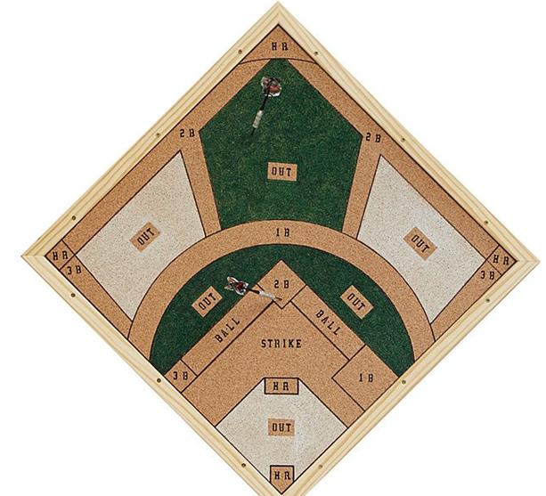Reversible Baseball Darts