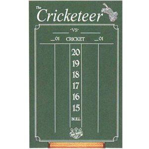 Cricketer Chalkboard Scoreboard
