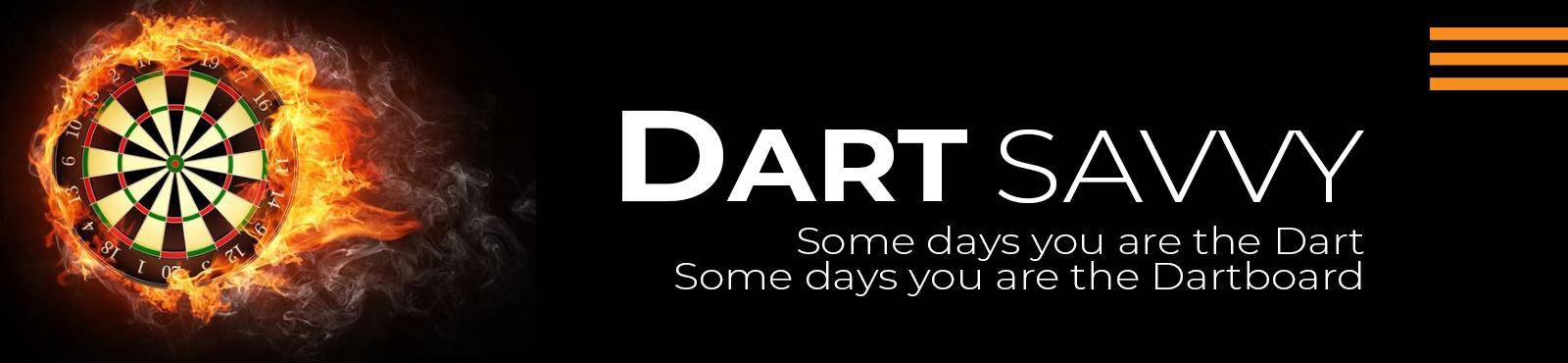 main banner of dart savvy