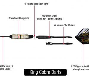 Gear King Cobra Strikes Dart Set